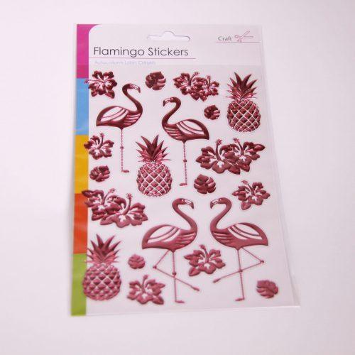 Flamingo Sticker Set Pink
