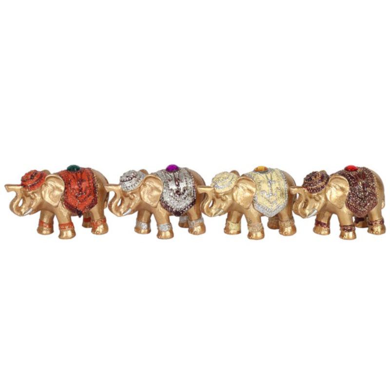 8cm Jewelled Elephant