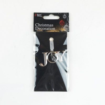 Christmas Hanging Charm Joy
