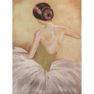 Ballet Dancer Canvas Wall Art