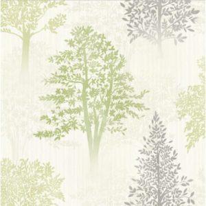 Arthouse Wallpaper Diamond Tree Green 259000 Sample
