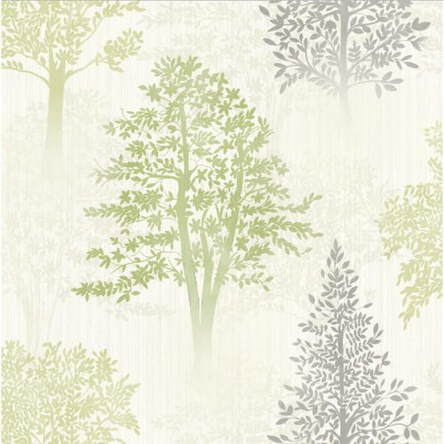 Arthouse Wallpaper Diamond Tree Green 259000 Sample