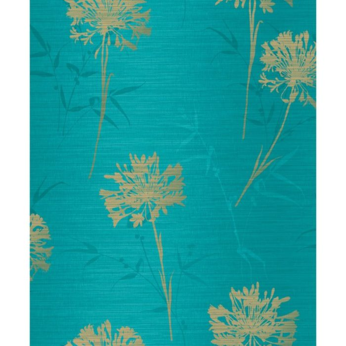 Arthouse Eastern Alchemy Wallpaper Kimora Teal 293002 Full Roll