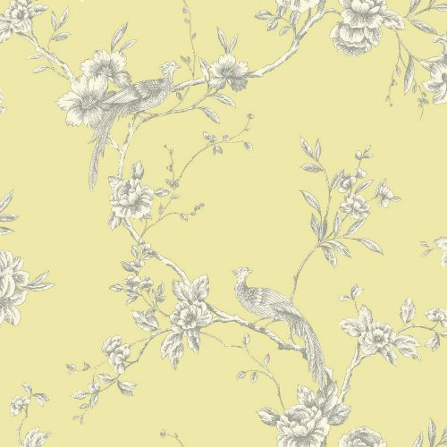 Arthouse Wallpaper Chinoise Yellow 422804 Sample