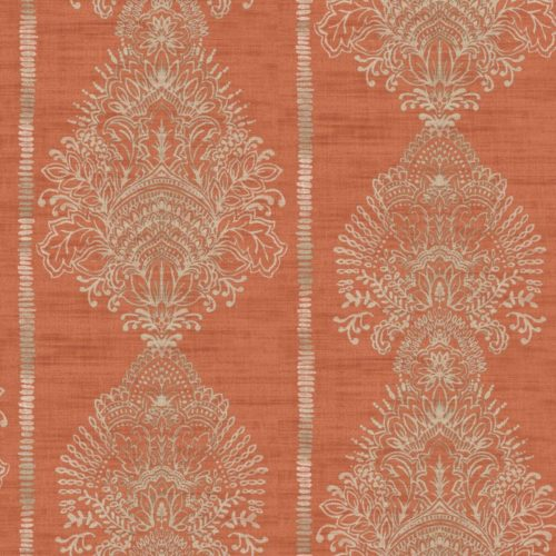 Arthouse  Paste The Wall Wallpaper Silk Road Terracotta 610700