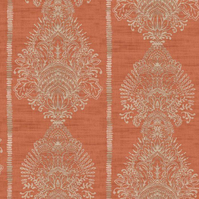 Arthouse  Paste The Wall Wallpaper Silk Road Terracotta 610700