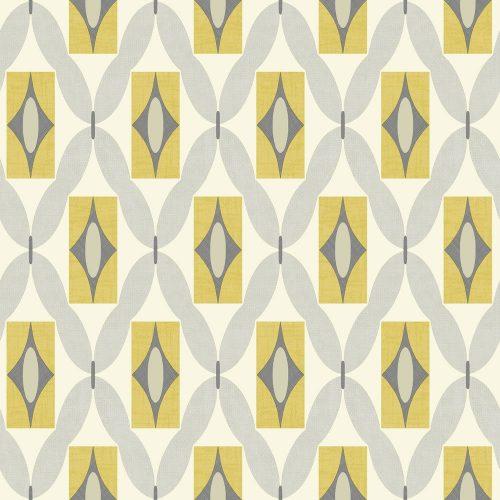 Arthouse Wallpaper Quartz Yellow 640703 Sample