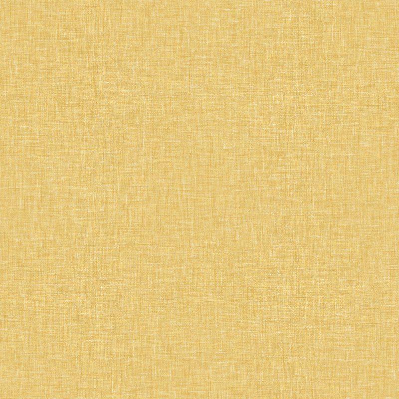 Arthouse  Paste The Paper Wallpaper Linen Texture Mustard Yellow 676009