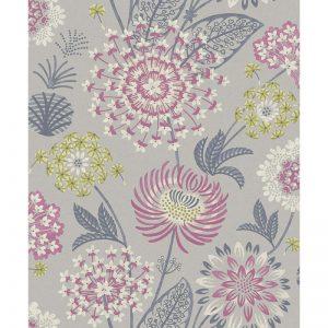 Arthouse  Paste The Paper Wallpaper Vintage Bloom Raspberry 676207