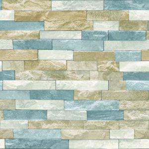 Arthouse Wallpaper Azure Slate Natural 697000 Full Roll