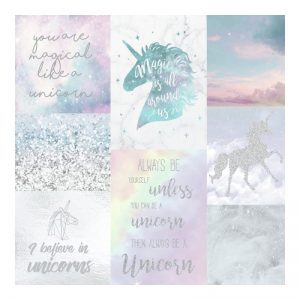 Arthouse Believe In Unicorns Wallpaper 698300 Large Sample