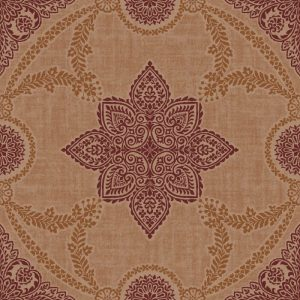Arthouse Flock and Glitter Non-Woven Paste The Wall Wallpaper Anise Copper 900404