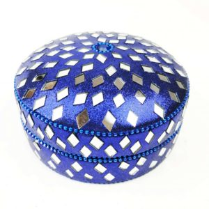 Wax Filled Candle Tin Blue
