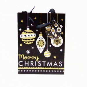 Merry Christmas Bag Bauble Large