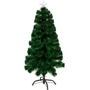 120cm 130 tip LED & Fibre Optic Christmas Tree