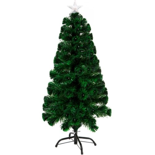 120cm 130 tip LED & Fibre Optic Christmas Tree