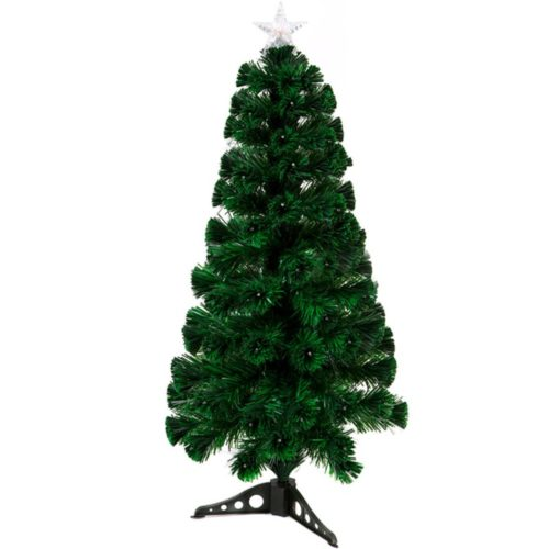 150cm 175 tip LED & Fibre Optic Christmas Tree