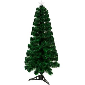 180cm 235 tip LED & Fibre Optic Christmas Tree