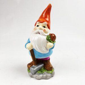 21.5cm Roots & Shoots Garden Gnome Orange