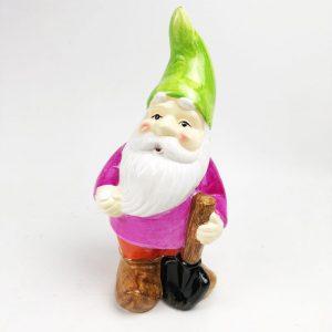 26cm Roots & Shoots Garden Gnome Green