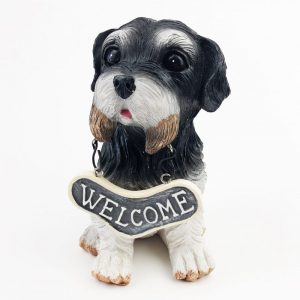 Welcome Dog Ornament Terrier