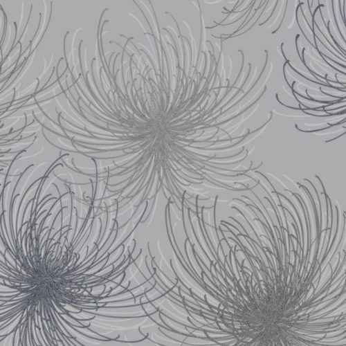 Grandeco Cosmo Vinyl Wallpaper Silver A24307 A4 Sample